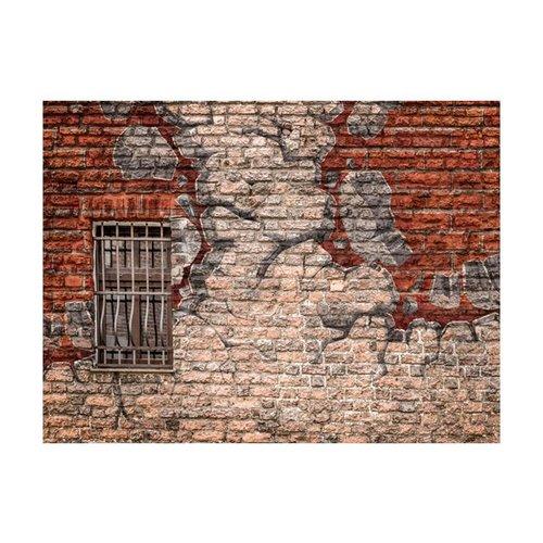 Fotobehang - Break the wall
