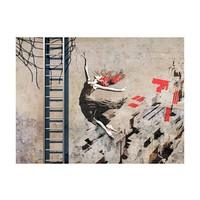 Fotobehang - De dans - Banksy