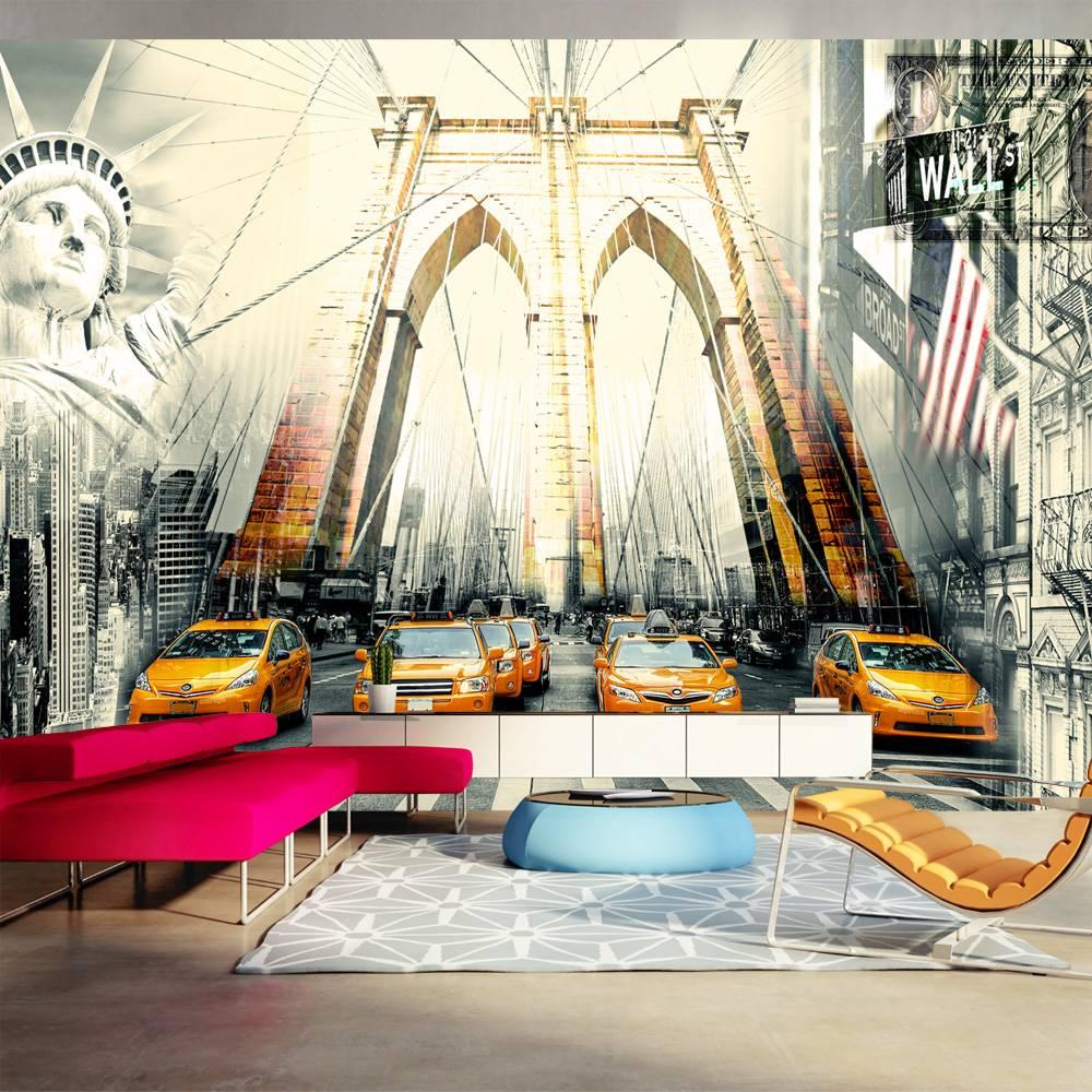 Fotobehang - Urban living, New York