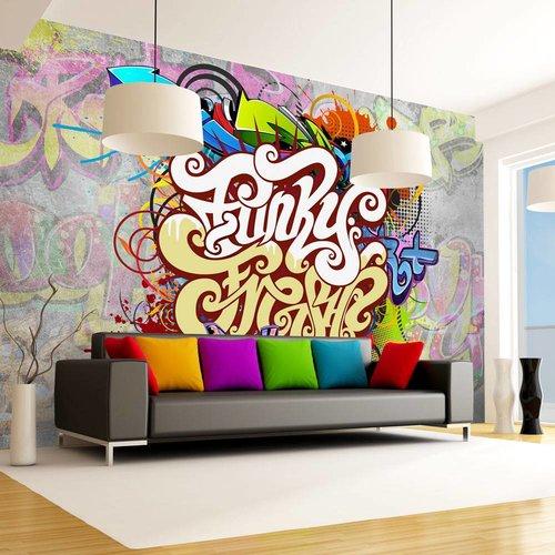 Fotobehang - Funky Graffiti