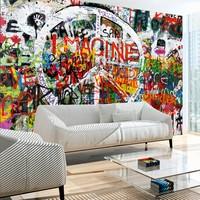 Fotobehang - Hippie Graffiti