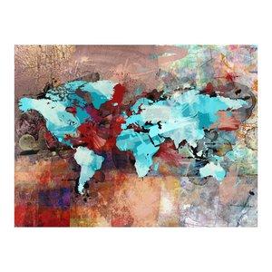 Fotobehang - Vliesbehang De wereld zonder kunst is niets