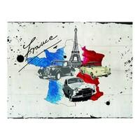 Fotobehang - Frankrijk per auto