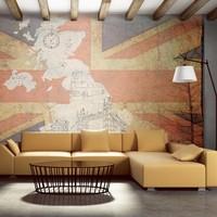 Fotobehang - Ansichtkaart uit Groot-Brittannië