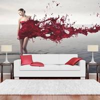Fotobehang - Red beauty
