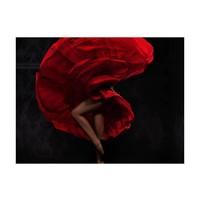 Fotobehang - Flamenco danseres