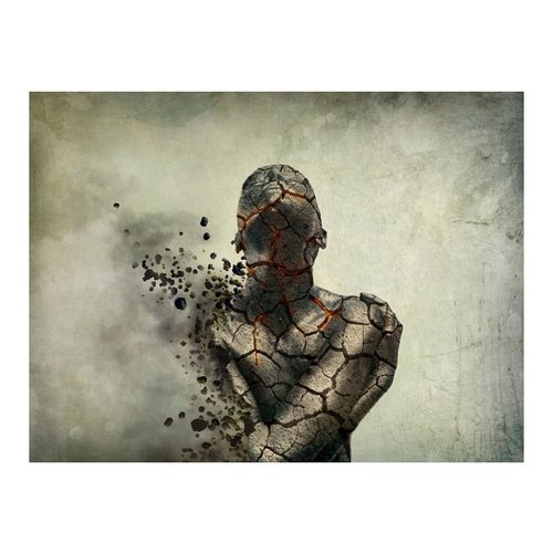 Fotobehang - Innerlijke explosie