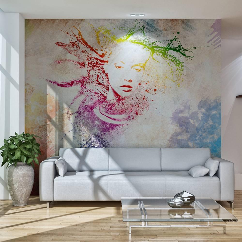 Fotobehang - Voorgevoel , multi kleur