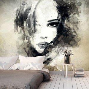 Fotobehang -  Mysterious Girl