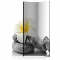 Vouwscherm - Witte Lotus  135x172cm