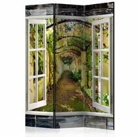 Vouwscherm - Geheime tuin 135x172cm