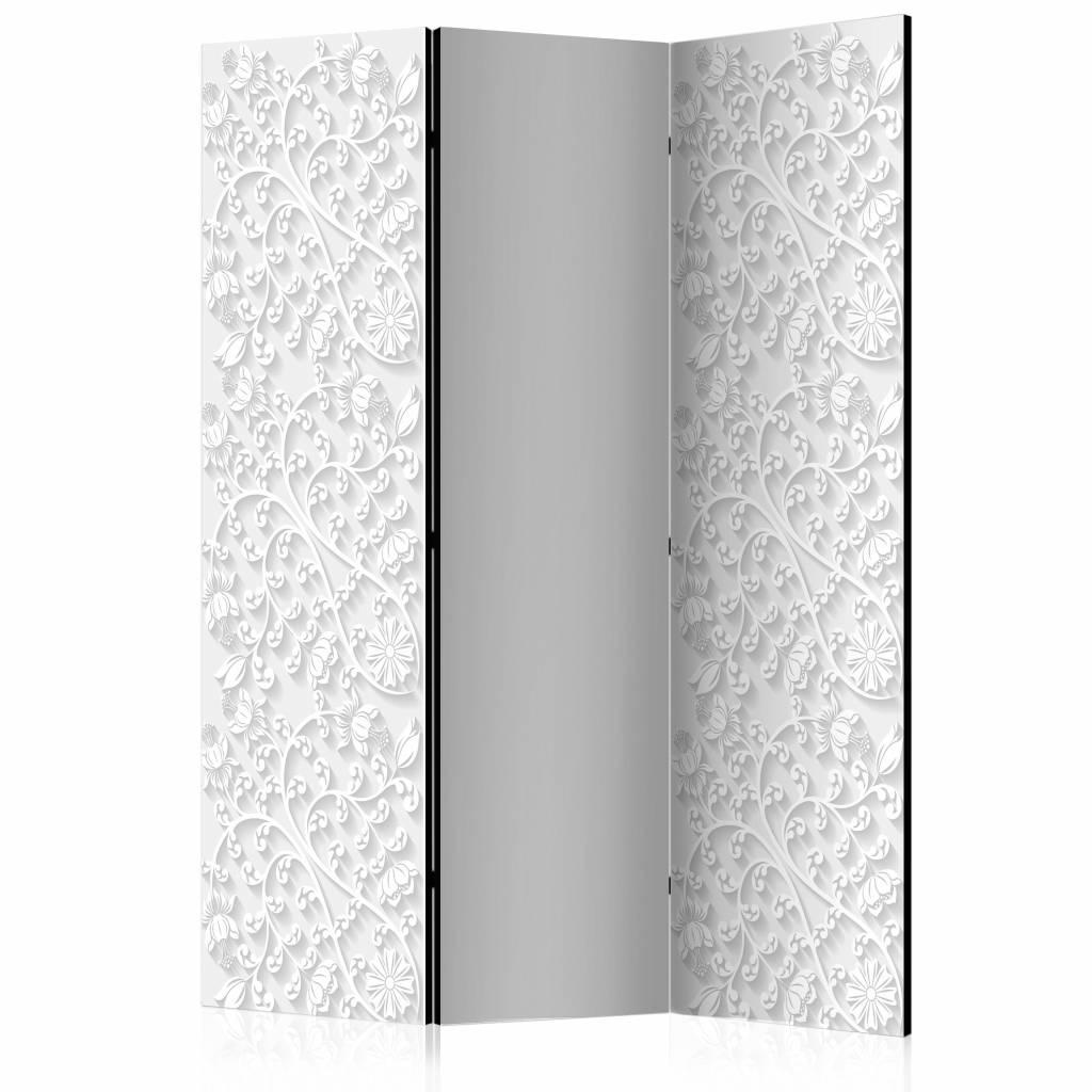 Vouwscherm - Bloemen patroon 135x172cm