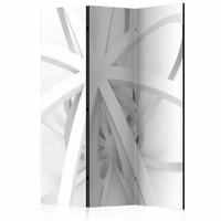Vouwscherm - Kamerscherm - Open werk 135x172cm , gemonteerd geleverd, dubbelzijdig geprint