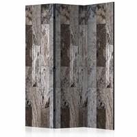 Vouwscherm - Marmeren Mozaïk 135x172cm