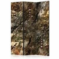 Vouwscherm - Schat van marmer 135x172cm