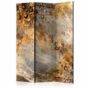 Vouwscherm - Marmeren spreuk 135x172cm