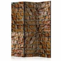 Vouwscherm - Charme van stenen 135x172cm
