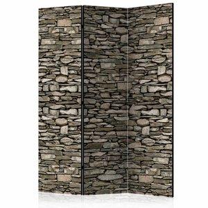 Vouwscherm - Natuur stenen 135x172cm