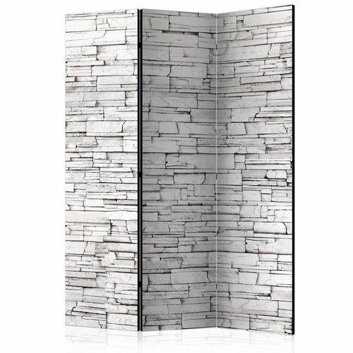 Vouwscherm - Witte muur 135x172cm