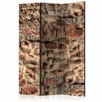 Vouwscherm - Historische muur 135x172cm