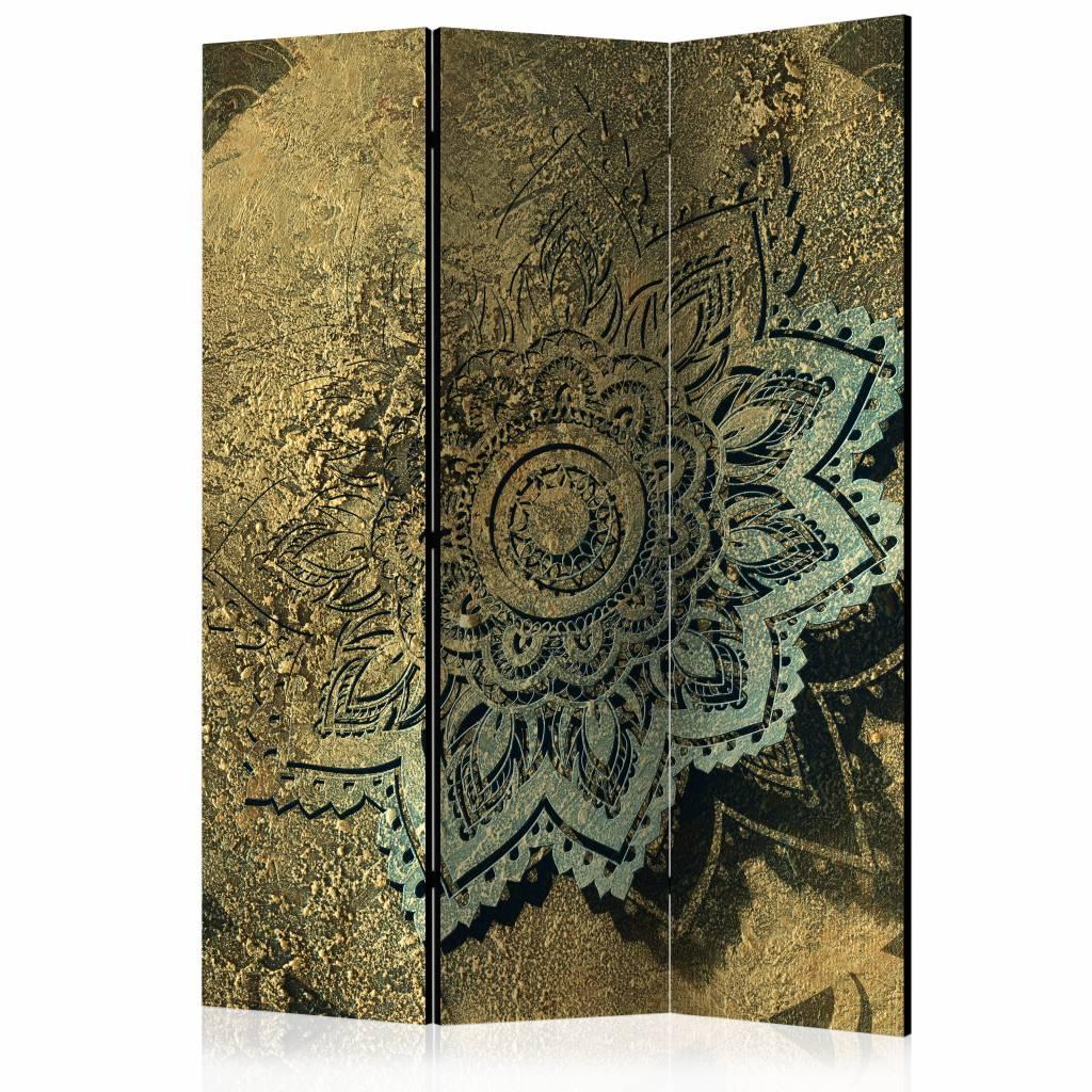 Vouwscherm - Gouden schat 135x172cm