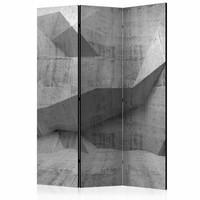 Vouwscherm - beton 135x172cm