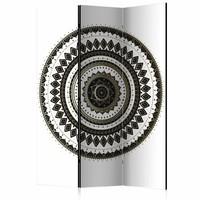 Vouwscherm - Elegant Oriënt 135x172cm , gemonteerd geleverd (kamerscherm)