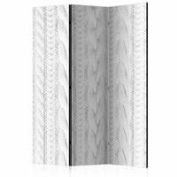 Vouwscherm - In het wit 135x172cm , gemonteerd geleverd (kamerscherm), dubbelzijdig geprint