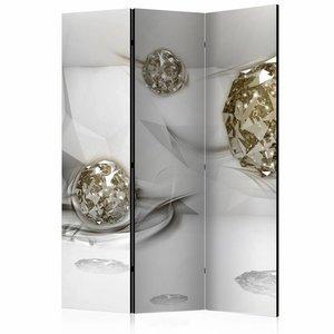 Vouwscherm - Abstracte diamanten  135x172cm