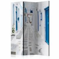 Vouwscherm - Grieks droomeiland, Griekenland 135x172cm