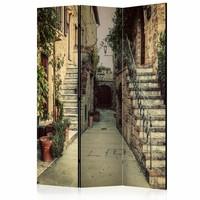 Vouwscherm - Herinnering aan Toscane 135x172cm, gemonteerd geleverd (kamerscherm)