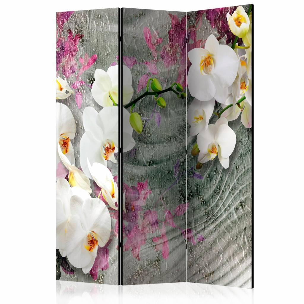 Vouwscherm - Geluiden van de orchidee 135x172cm
