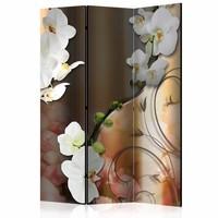 Vouwscherm - Orchidee 135x172cm