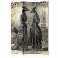 Vouwscherm - Aangeklede conversatie 135x172cm