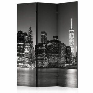 Vouwscherm/kamerscherm - New York Nights 135x172cm