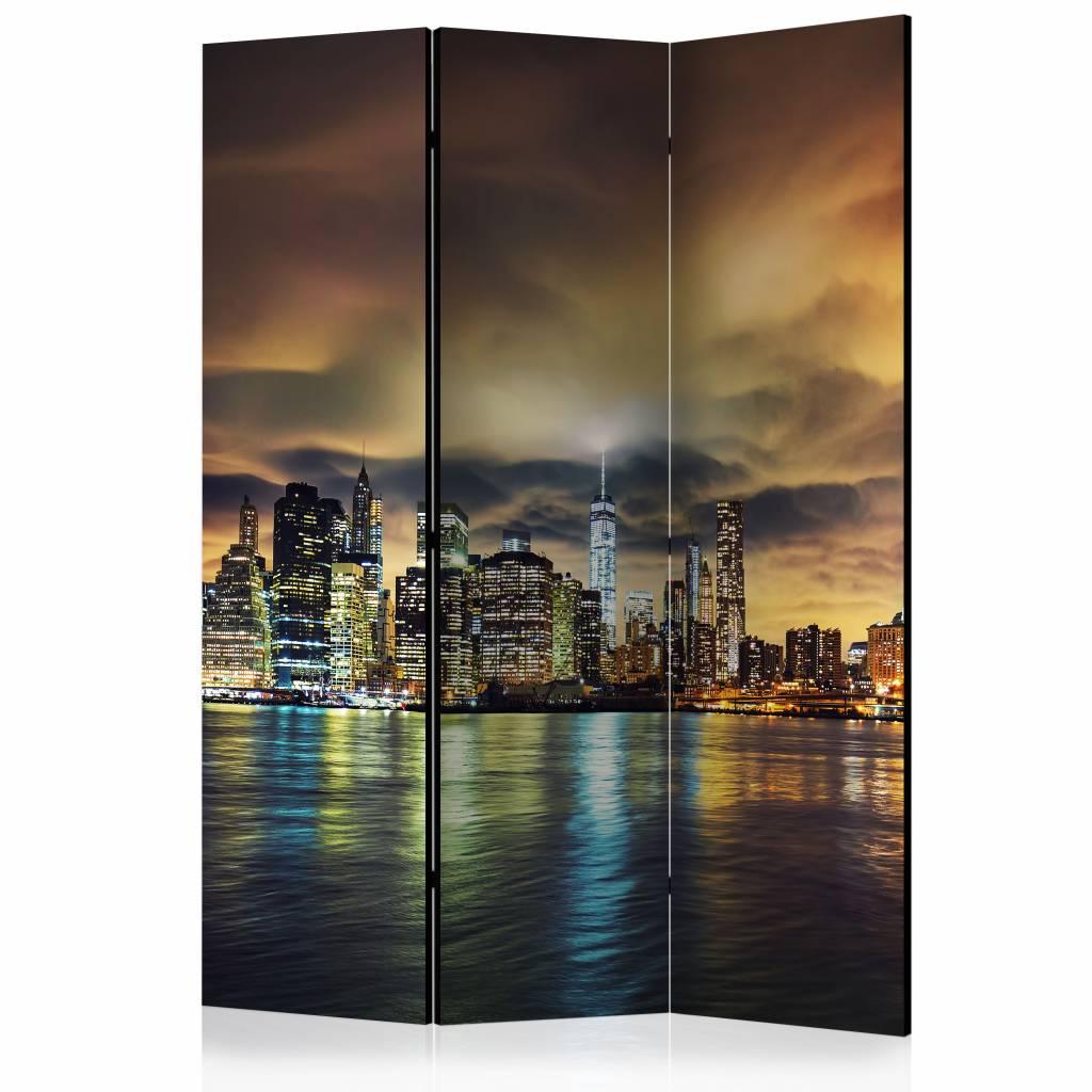 Vouwscherm - New York Sky 135x172cm