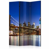 Vouwscherm - New York 135x172cm