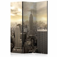 Vouwscherm - New York 135x172cm, gemonteerd geleverd (kamerscherm) dubbelzijdig geprint