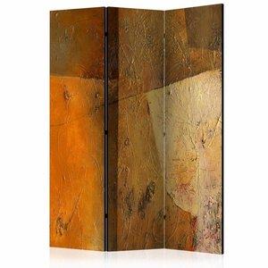 Vouwscherm - Modern Artistiek 135x172cm, gemonteerd geleverd (kamerscherm) dubbelzijdig geprint