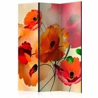 Vouwscherm - Velvet Poppies [Room Dividers]