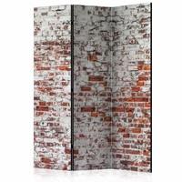 Vouwscherm - Oude muur 135x172cm