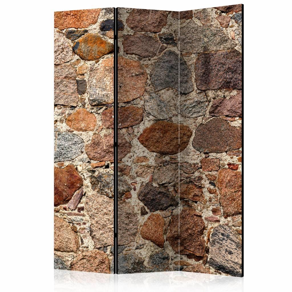 Vouwscherm - Artistieke stenen 135x172cm