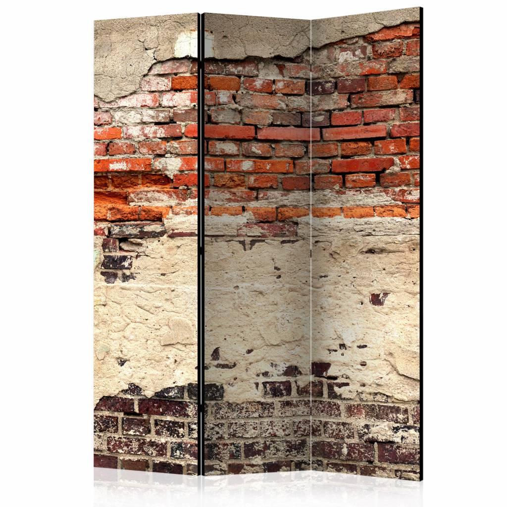 Vouwscherm - Stads muur 135x172cm
