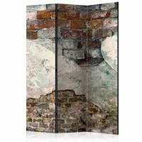 Vouwscherm - De muur 135x172cm , gemonteerd geleverd (kamerscherm)