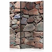 Vouwscherm - Muur van stenen 135x172cm
