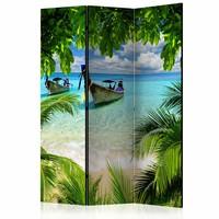 Vouwscherm - Tropisch paradijs 135x172cm