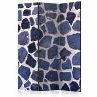 Vouwscherm - Blauwe zomer 135x172 cm
