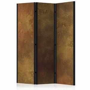 Vouwscherm - gouden verleiding 135x172 cm , gemonteerd geleverd (kamerscherm) dubbelzijdig geprint