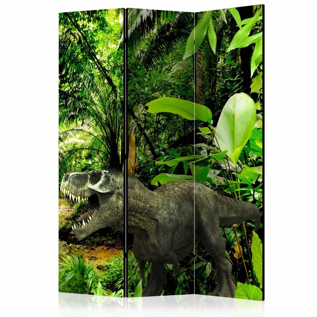 Vouwscherm - Dinosaurussen in de jungle 135x172cm