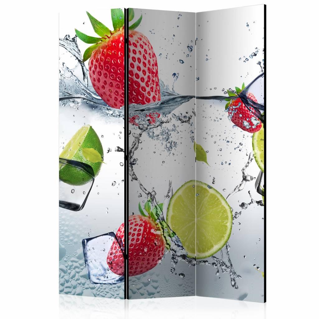 Vouwscherm - Fruit Cocktail 135x172cm
